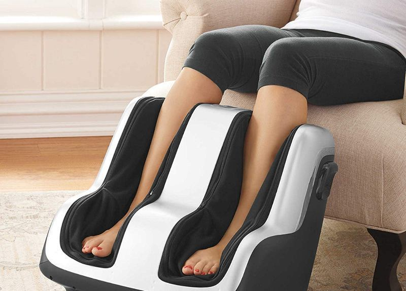 Human Touch Foot and Calf Massager Review [The Reflex-4]