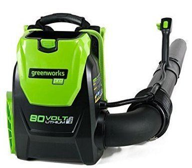 greenworks backpack blower review